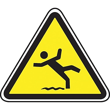 CSA Pictogram Safety Signs, Slippery Floor, SD056