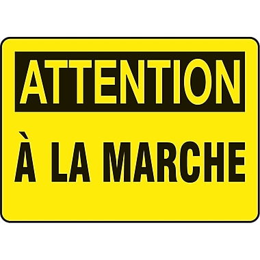 Safety Signs and Identification, Slips, Trips & Falls, Attention; a la Marche, SO925