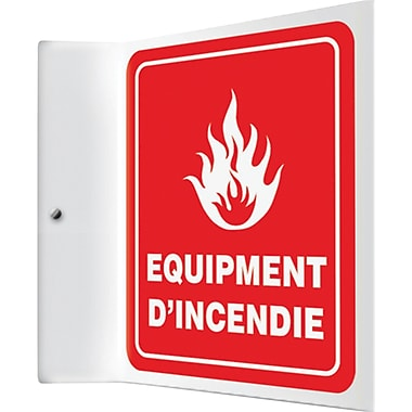 Projection TM Signs, equipement D'Incendie, SED965