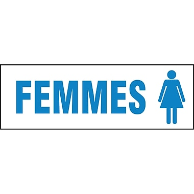Facility Signs, Femmes, SEE306