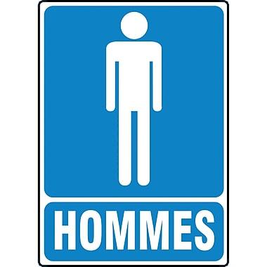 Restroom Signs, Hommes, SEE300
