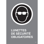 """Canadian Standards Association Identification Safety Signs, 10"""", English"""