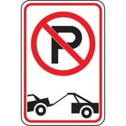 Parking Signs, No Parking and Tow Away, SAX-505