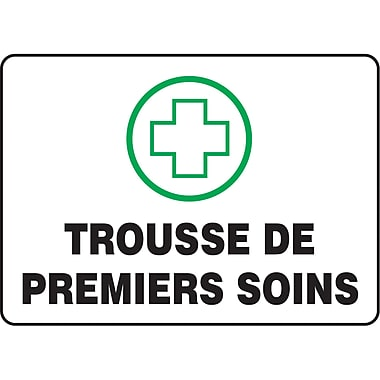 Safety Signs and Identification, First Aid, Trousse De Premiers Soins, SAZ657