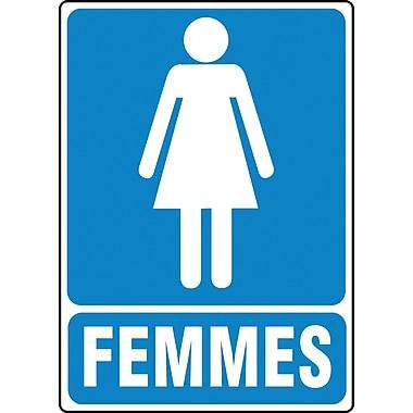 Restroom Signs, Women; Femmes, SEE302