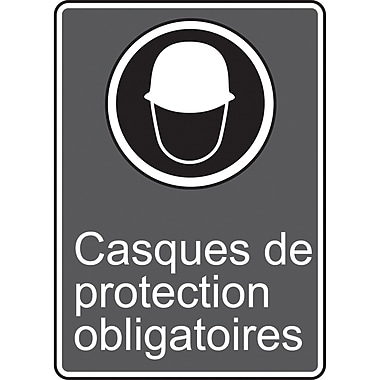 Canadian Standards Association Identification Safety Signs, Casque De Protection Obligatoires, SR645
