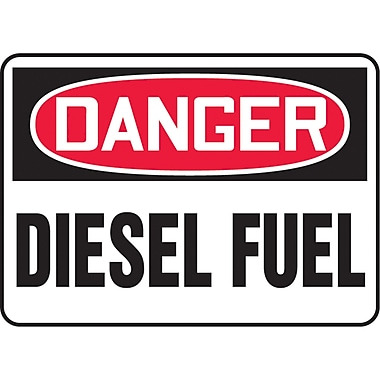 Safety Signs and Identification, Chemicals & Haz-Mat, Danger; Diesel fuel , SK216