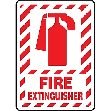 Safety Signs and Identification, Fire & Emergency, 14