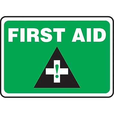 Safety Signs and Identification, First Aid, 14
