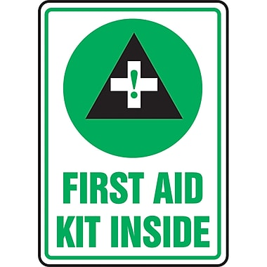 Safety Signs and Identification, First Aid, 2x, French