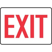 """Safety Signs and Identification, Admittance & Exit , 10"""", English, SL035"""