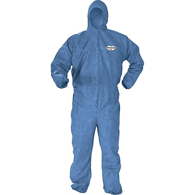 Kleenguard A60 Coveralls, Large, 10/Pack