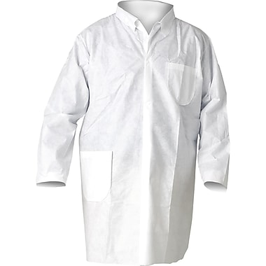 Kleenguard A20 Coveralls, Lab Coat, 10/Pack