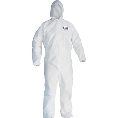 Kleenguard A40 Coveralls, X-Large, 10/Pack