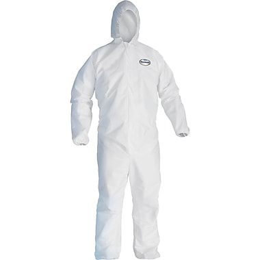 Kleenguard SEA094 A20 Coveralls, Large, 12/Pack