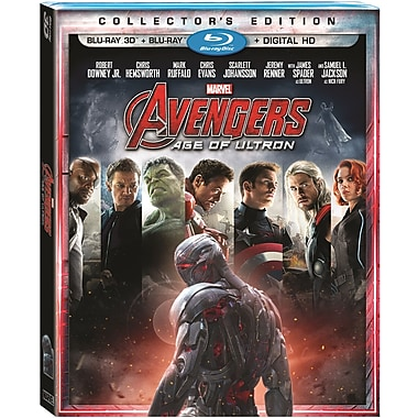 Marvel's Avengers: Age of Ultron (3D Blu-ray/Blu-ray)