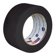 "Intertape® PF3 Masking Tape 1"" x 180', Black, 36 Rolls"