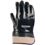 Horizon Full Nitrile Dipped Gloves, One Size, 12/Pack