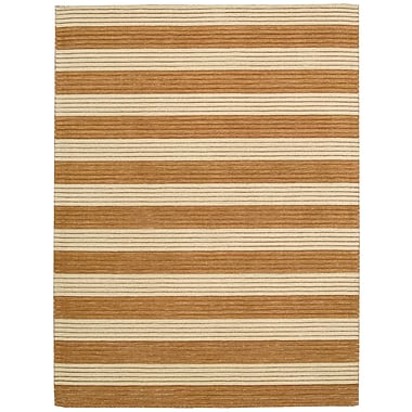 Barclay Butera Ripple Pumpkin Area Rug; 3'6'' x 5'6''
