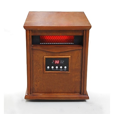 Dynamic Infrared 1,500 Watt Portable Electric Infrared Cabinet Heater