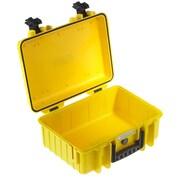 B&W Type 4000 Outdoor Empty Case; Yellow