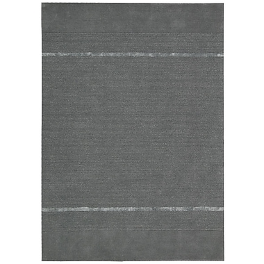Calvin Klein Rugs Vale Hand-Loomed Gray Area Rug; 7'9'' x 10'10''