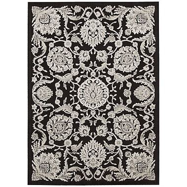 Nourison Illusions Black Area Rug; 7'9'' x 10'10''