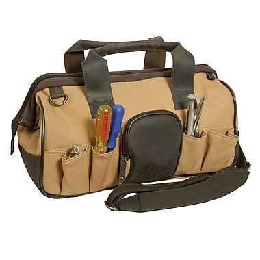 Canyon Outback Leather Big Sky Canvas and Leather Tool Bag