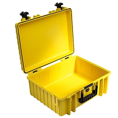 B&W Type 6000 Outdoor Empty Case; Yellow