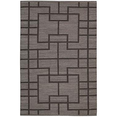 Barclay Butera Maze Slate Area Rug; 5'3'' x 7'5''