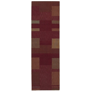 Calvin Klein Rugs Loom Select Brick Area Rug; Runner 2'3'' x 7'5''