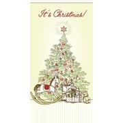 Carte porte-billet, Emballage cadeau arbre de Noël , 18/paquet