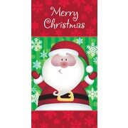 Money Holder, Santa, 18/Pack
