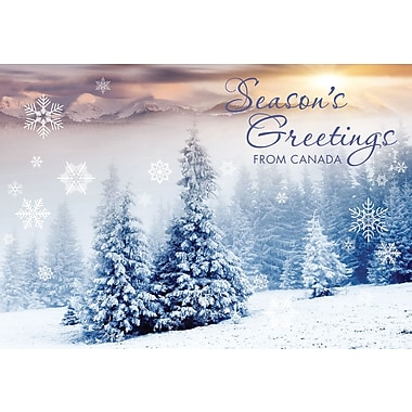 Season's Greetings from Canada, Scenic, 18/Pack