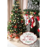 Across the Miles, Christmas Tree, 18/Pack