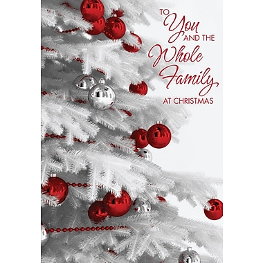 To You & Your Family, Ornaments, 18/Pack