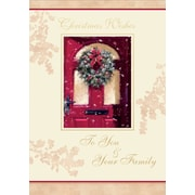 To You & Your Family, Wreath, 18/Pack