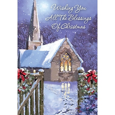 Blessed Christmas, Church, 18/Pack