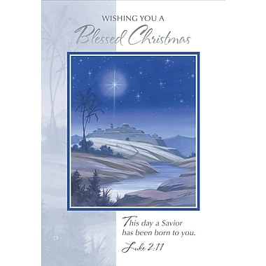 Christmas Blessings, Church, 18/Pack
