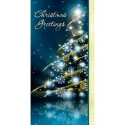 Money Holder, Christmas Tree, 18/Pack