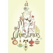 Joyeux Noël, Décorations, 18/paquet