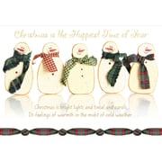 Christmas, Snowman, 18/Pack