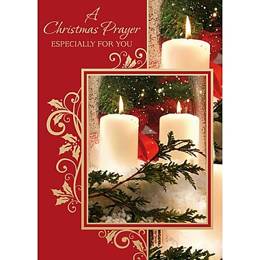 Christmas Prayer, Candles, 12/Pack
