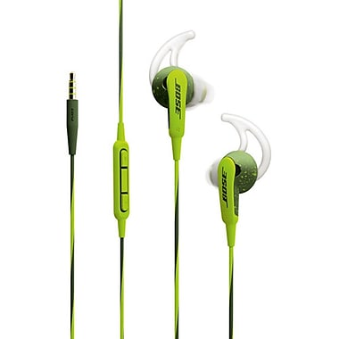 Bose® SoundSport® In-Ear Headphones for Apple Devices, Energy Green