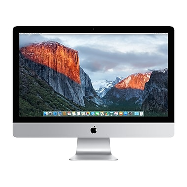 Apple - Ordinateur iMac 27 po avec écran Retina 5K, Intel Core i5 quadricœur 3,3 GHz, RAM 8 Go, 2 To, AMD R9 M395, anglais
