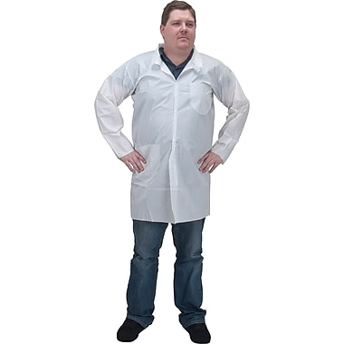 Microporous Protective Clothing, SEC821, 36/Pack