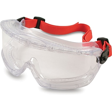 V-maxx Safety Goggles, Clear, Direct Vent Goggles, 12/Pack