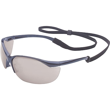 Vapor Safety Eyewear, Silver, SAK395, 12/Pack