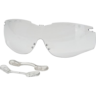 N-vision T5655 Series Flexi-fit Soft Nosepiece System, Clear, 12, Eye Protection Type, Replacement Lens