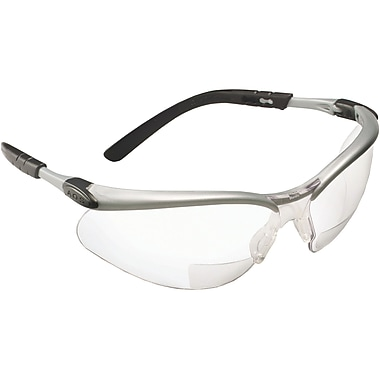 3M BX Eyewear With Reader Lens, Clear, 4